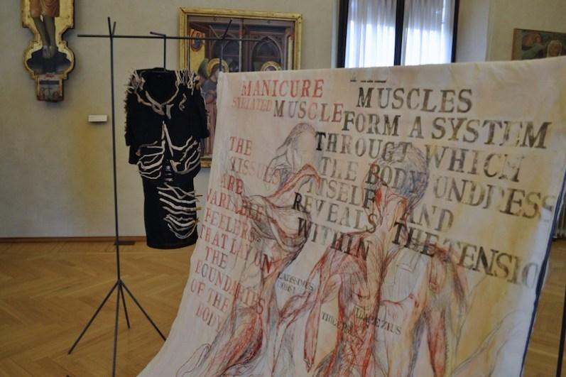 Sissi Manifesto Anatomico veduta Collezioni Comunali d'Arte ph. Ilaria Medda