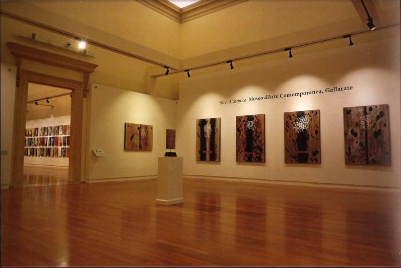 Allestimento della mostra di Roberto Floreani a Palazzo della Gran Guardia di Verona 2