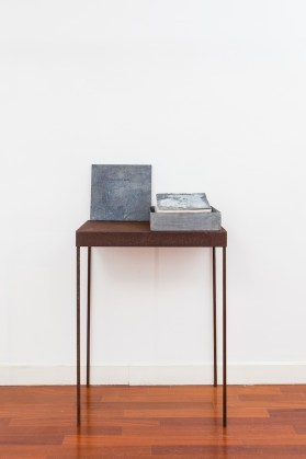 Pier Paolo Calzolari, Cantata Bluia libro dore, 1999, libro d'artista - #1 Courtesy galleria Riccardo Crespi, photo by Marco Cappelletti