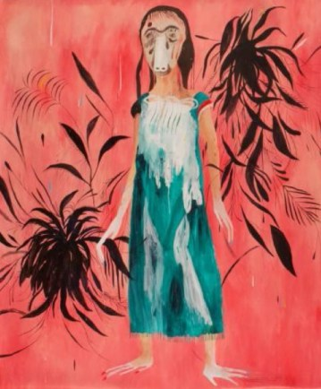 Silvia Mei, Senza Titolo, 2014, tecnica mista su carta, 146x176 cm