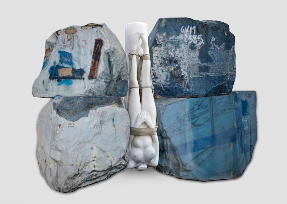 Vanessa Beecroft, Jennifer Statuario, 2015, 400x600x500 cm (rendering)