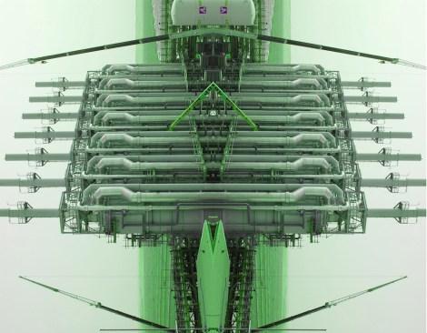 Maria Rebecca Balestra, Journey into Fragility, The Green City, stampa su dibond + plexiglass, 60x90 cm, pezzo unico