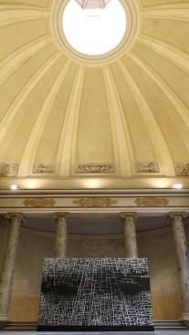 Massimiliano Galliani. LSDT – Le Strade Del Tempo, veduta dell'allestimento, Sinagoga di Reggio Emilia, Reggio Emilia