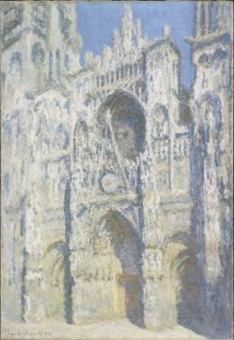 Claude Monet, La cathédrale de Rouen. Le portail et la tour Saint-Romain, plein soleil, en 1893, olio su tela, 107x73.5 cm, inv. RF 2002 20(i.d 42) Monet 20, Paris, Musée d'Orsay © RMN-Grand Palais (Musée d'Orsay) / Patrice Schmidt