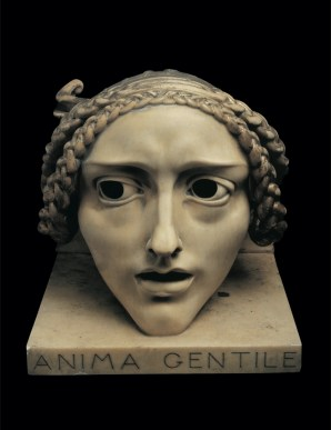Adolfo Wildt, Carattere fiero-Anima gentile, Ca' Pesaro, Venezia (dettaglio)