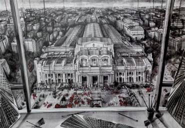 Fabio Giampietro - Studio in Milano Centrale, 2015 - 170x120cm
