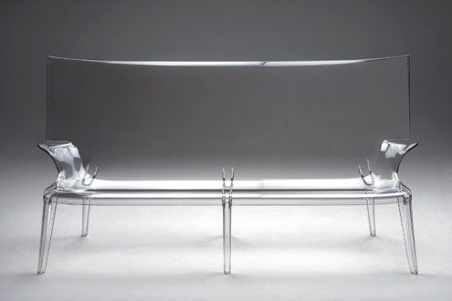 Uncle Jack, 2014, divano, Kartell. Design by Philippe Starck