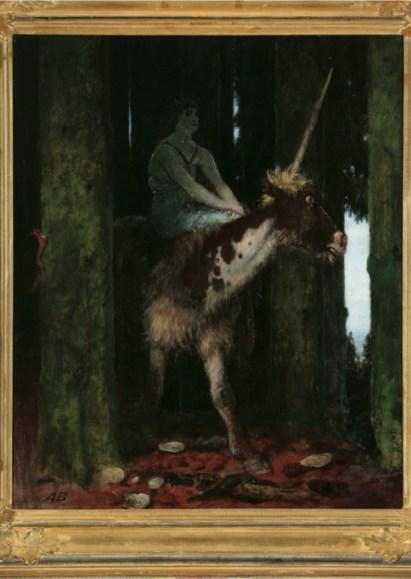 Arnold Böcklin, Il silenzio della foresta, 1885, olio su tavola, 73x58.5 cm, Poznań, National Museum © National Museum in Poznań