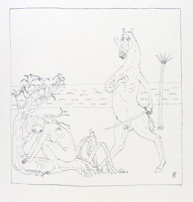 Ettore Tripodi, Diario di un naufrago 7 Courtesy Studio d'Arte Cannaviello, Milano