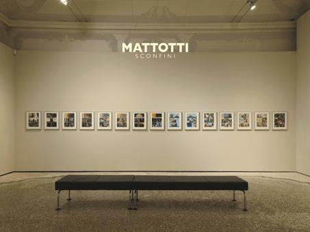 Lorenzo Mattotti 'Sconfini', veduta della mostra