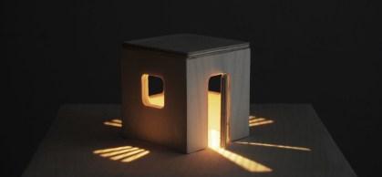 Alessandro Lupi, Golden Cage (Shadow series), 2016 tecnica mista, cm 21x21x20. Courtesy Guidi & Schoen, Genova