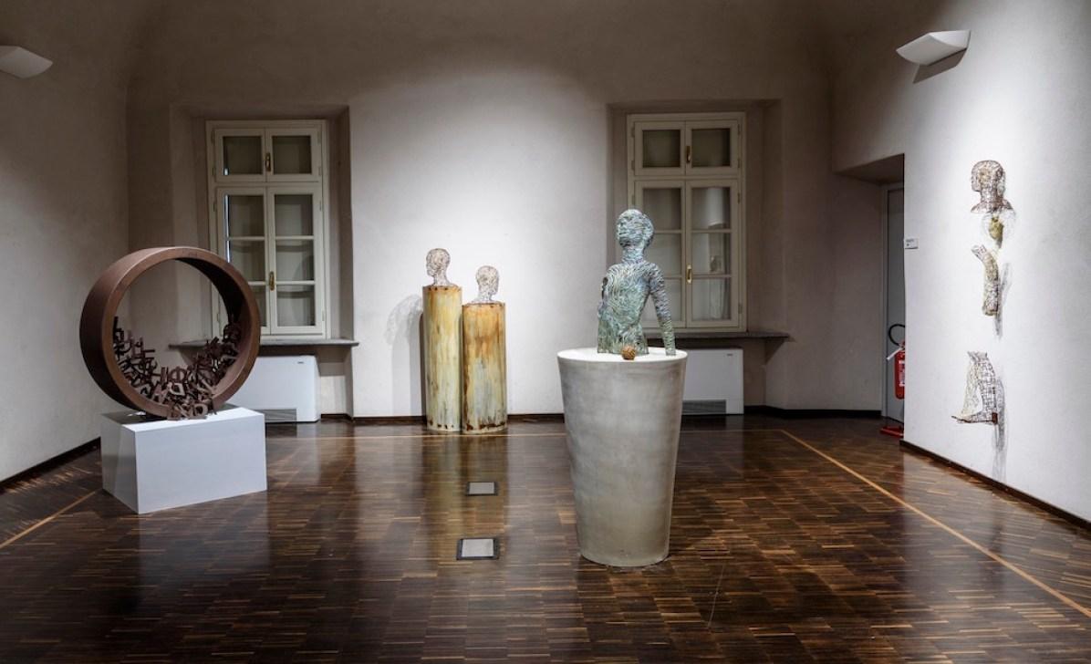 Rebuilding spaces, veduta della mostra, Castello del Monferrato, Casale Monferrato. Foto di Enzo Bruno
