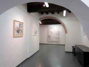 Allestimento Eros Opuntia, Galleria 8,75 Artecontemporanea, Reggio Emilia