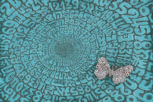 Tobia Ravà, ParPar, 2016, litoserigrafia su carta, cm 50 x 70, foto Amedeo Fontana