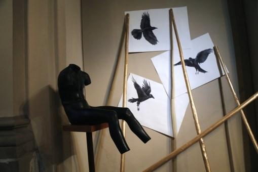 Vanni Cuoghi, The Invisible Sun, Studio Museo Francesco Messina, Milano, veduta della mostra, foto adicorbetta