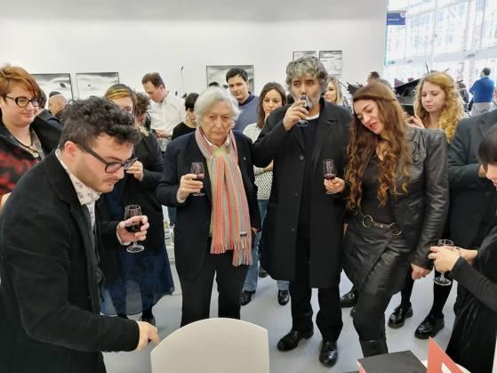 Tastin' Paintings for Espoarte 100, 3 febbraio 2018, Arte Fiera, Bologna