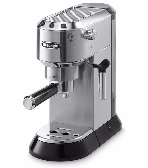 Best espresso machine-De'Longhi EC680 Dedicate 15-Bar Pump Espresso Machine Review