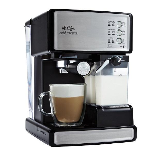 Best espresso machine-Mr. Coffee Cafe Barista Espresso Maker BVMC-ECMP100 Review