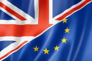 UK and Europe flag