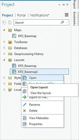 Managing Multiple Layouts in ArcGIS Pro ArcUser
