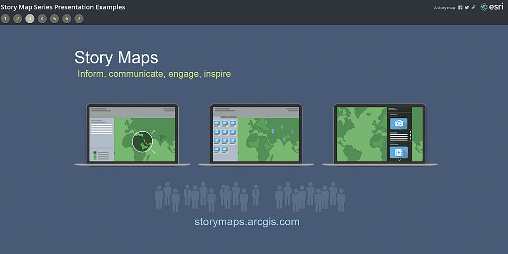 Using Story Maps instead of PowerPoint ArcUser