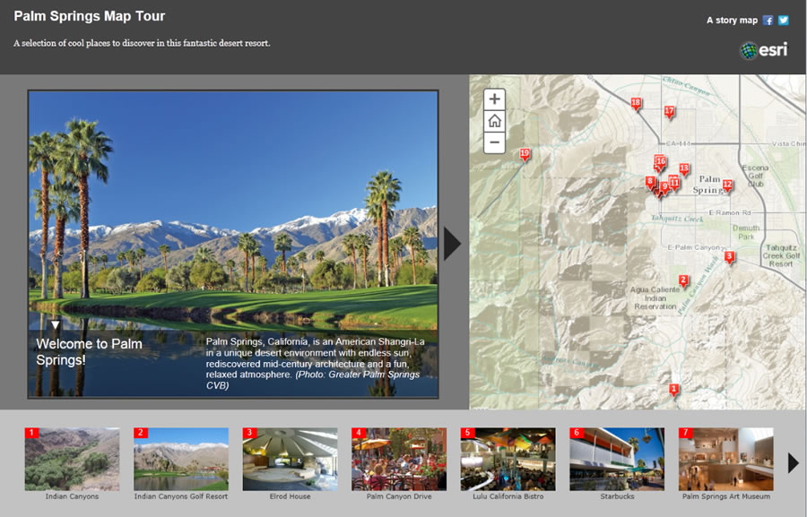 Make a Map Tour Story Map - story map template