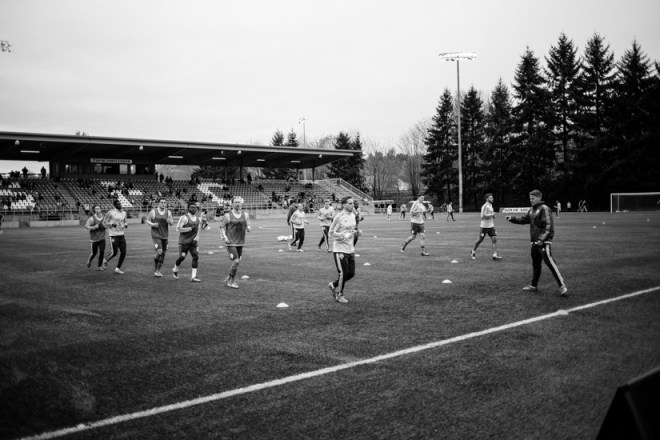 Sounders S2 game at Starfire