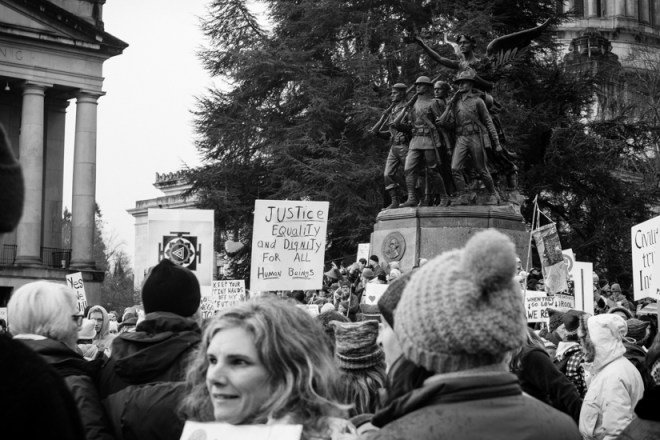 Women's March in Olympia 2017