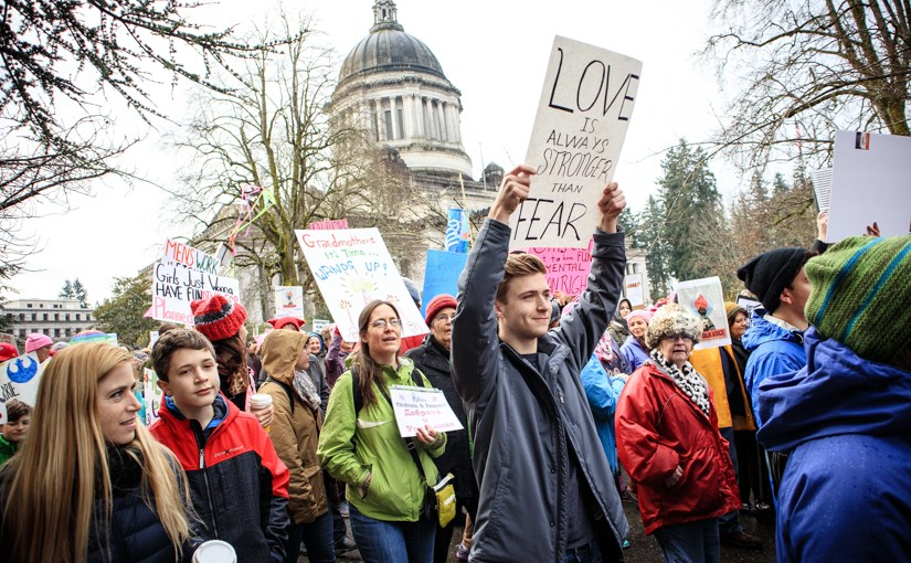 The Women's March in Olympia