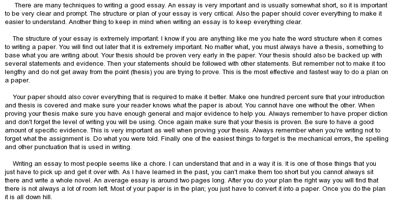 how to write an good essay write good introduction essay the writing