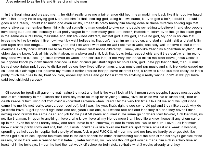 The Best Birthday Ever Essay