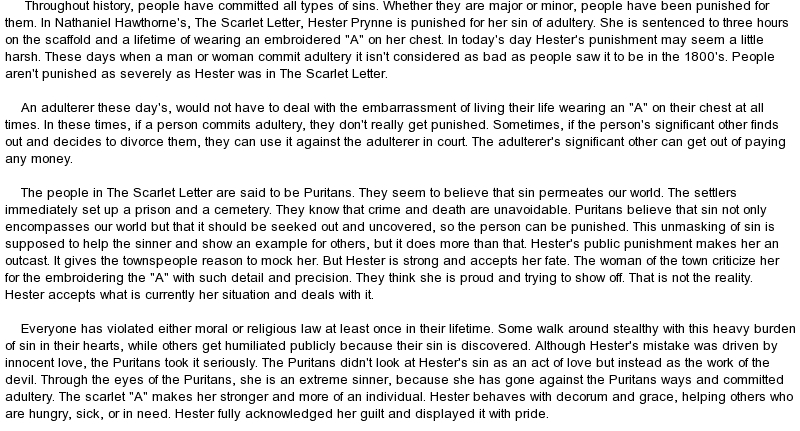 essays on the scarlet letter help writing custom essay on
