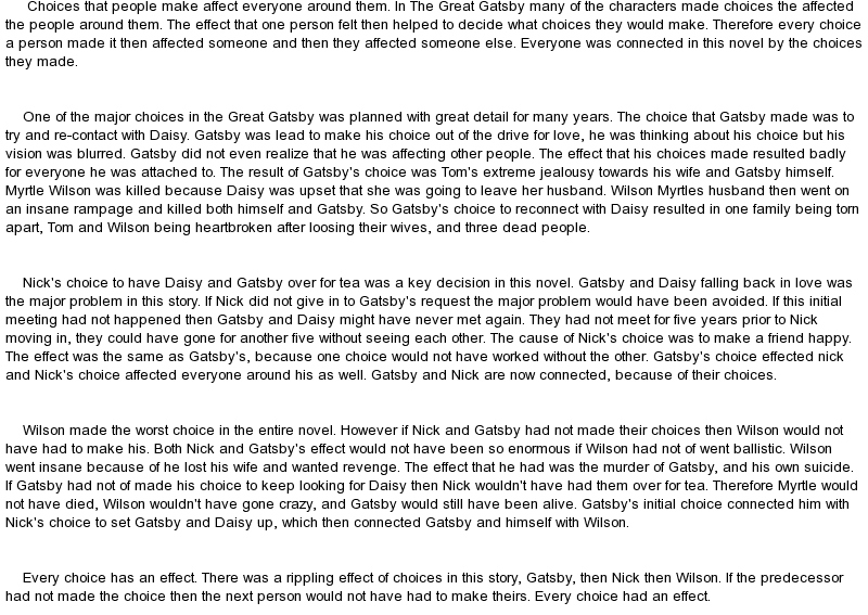 essay conectiong the great gatsby to a song The great gatsby questions and answers the question and answer section for the great gatsby is a great resource to ask questions, find answers, and discuss the novel.