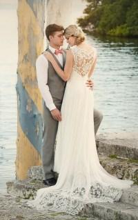 Designer Beach Wedding Dress | Wedding Dresses | Essense ...