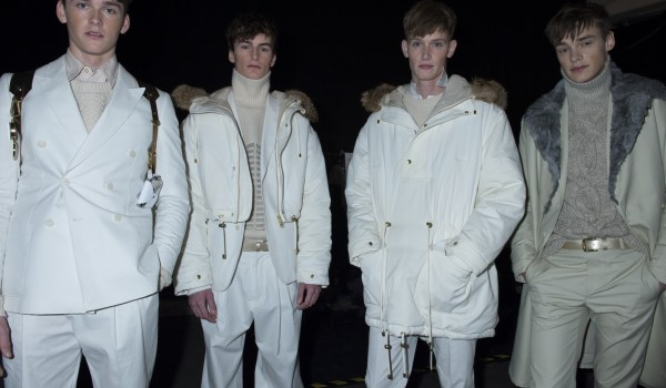 Topman design fall 2013 runway looks winter 2013 fashion show backstage london parkas tibet tibetan menswear