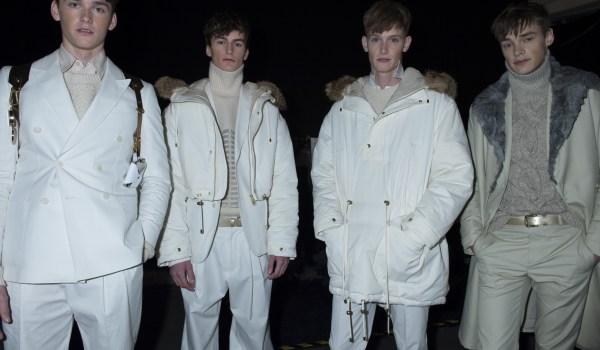 Topman design fall 2013 runway looks winter 2013 fashion show backstage london parkas tibet tibetan menswear