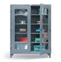Strong Hold See-Through Storage Cabinets | Essex Drum ...