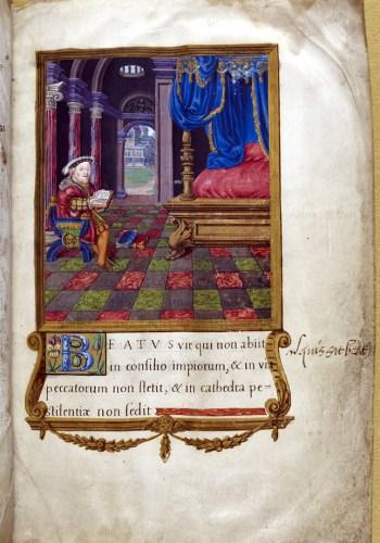 Henry VIII's Psalter