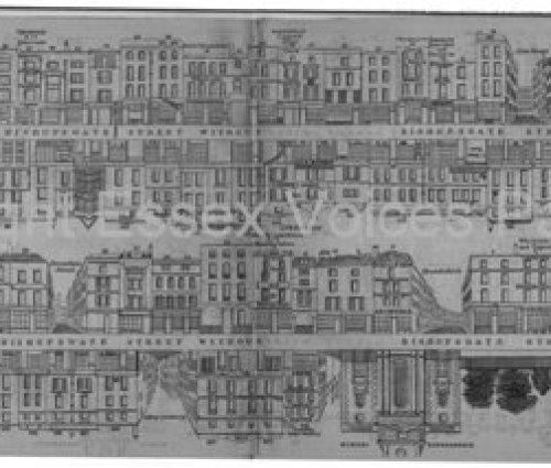 Tallis Street Views Bishopsgate Without 1838-40