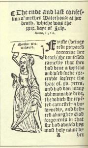 Agnes Waterhouse of Hatfield Peverel