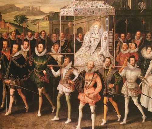 Elizabeth I Procession Portrait – Robert Peak the Elder 1551-1619