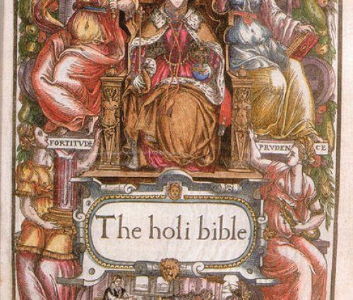 Elizabeth I Bishops Biblie