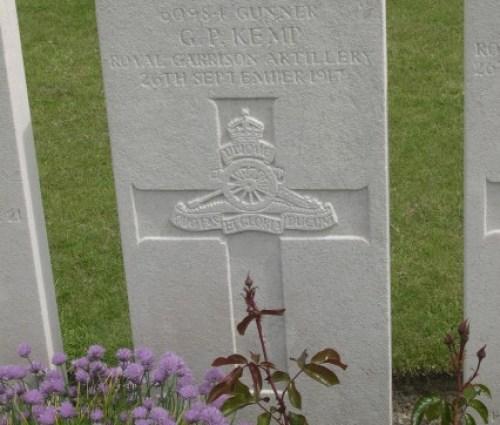 Gordon Parnall Kemp, Ypres 1913