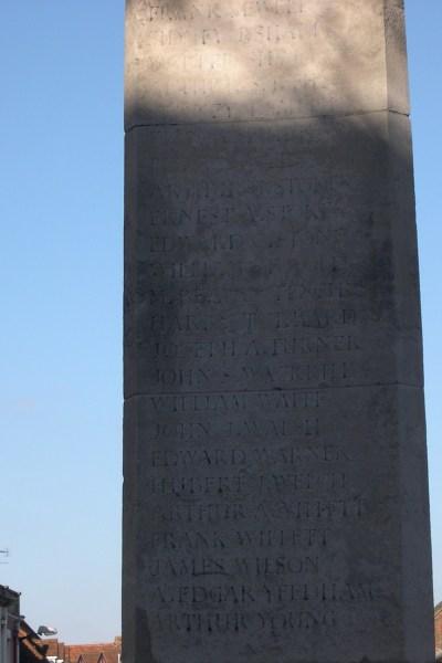 Great Dunmow War Memorial - Victor Spurgeon