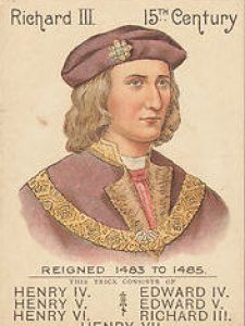 Richard III – Mazawatte Tea game card
