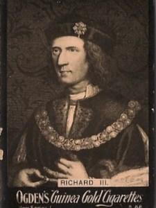 Richard III – Ogden's Guinea Gold