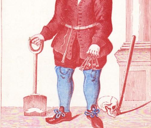 Robert Scarlett, grave digger of Tudor England