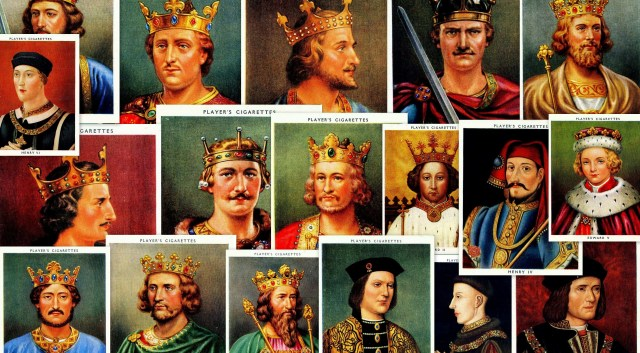 Player's Kings & Queens cigarette cards - Normans to Plantagenets
