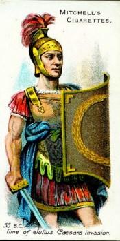 Roman Solider in the Time of Julius Caesar's invasion