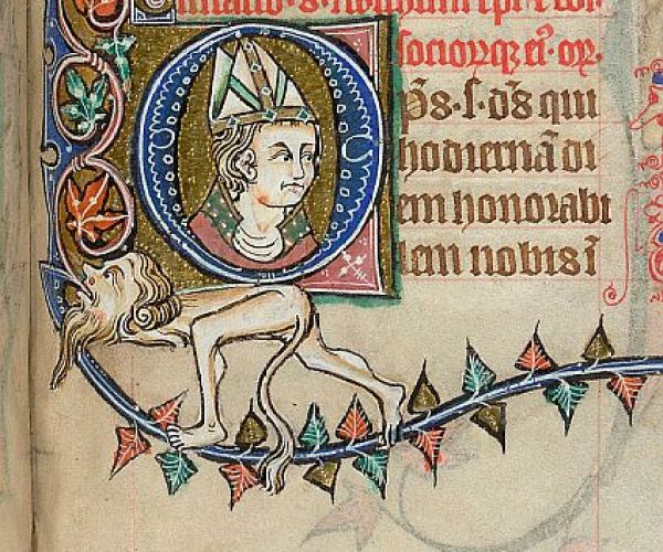 Stowe 12 f.273 Feast of Swithun